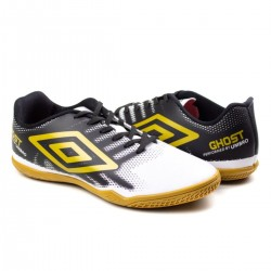 Imagem - Tenis Futsal Umbro 978761 Ghost /preto/dourado - 439787612