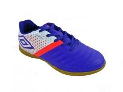Imagem - Tenis Futsal Inf Umbro 801046 /branco/coral - 43801046145