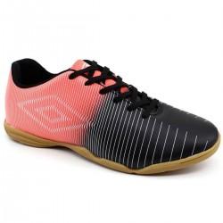 Imagem - Tenis Futsal Inf Umbro 800767 Vibe jr /coral/prata - 438007671