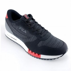 Imagem - Tenis Fila 802947 Euro Joger Sport /grafite/vermelho - 418029471