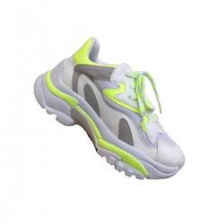 Imagem - Tenis Chunky Sneaker Zatz Z2650.16256 Mestico /neon l - 198Z2650.162562