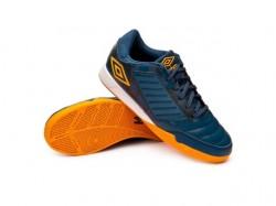 Imagem - Tenis Futsal Umbro 801325 Chaleira /laranja/branco - 4380132589