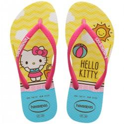 Imagem - Chinelo Inf Havaianas 4145748 Slim Hello Kitty  Macaron - 22141457482