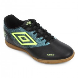 Imagem - Tenis Futsal Umbro 907814 Insight /azul/limao - 439078141
