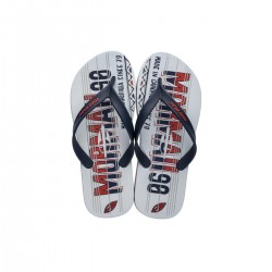 Imagem - Chinelo Mormaii 10591 Tropical Graphics /azul/vermelh - 8910591-93