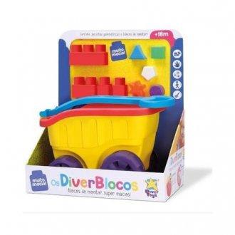 Imagem - Diver Toys 8143 Carrinho Com Blocos