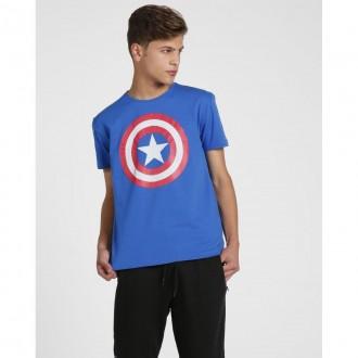 Imagem - Clube Comix 11666 Camiseta Capitao America M/c