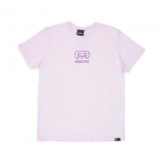 Imagem - Hocks 21-063 Camiseta Logo Orchid Ice M/c