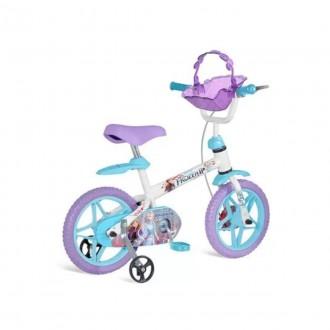 Imagem - Bicicleta Frozen ii Aro 12  3097 - Bandeirantes