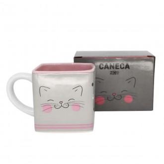 Imagem - Caneca Cubo Meow Power 300ml  10024105 - Zona Criativa