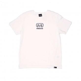Imagem - Hocks 21-062 Camiseta Logo Cloud Dancer M/c