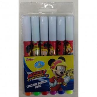 Imagem -  Canetinha Hidrocor Mickey com 6 unidades Poop Store