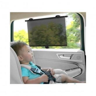 Imagem - Protetor Solar Retrátil Para carro Com Ventosas  10502 - Buba