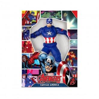 Imagem - Boneco Capitão America Revolution 514 - Mimo Toys