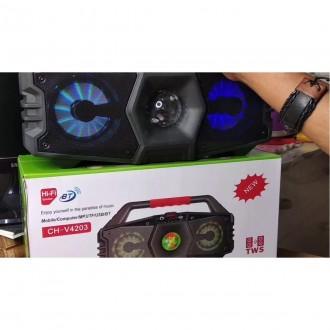 Imagem - bt Ch-v4203 Caixa de Som Bluetooth