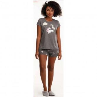 Imagem - Danka 6468 Pijama M/c  (blusa e Short)
