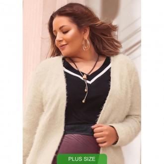 Imagem - Blusa Plus M/c - C32283-9003 - Cativa