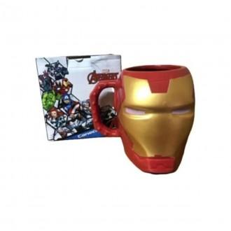 Imagem - Caneca Formato 3d Iron Man 400ml  10023531 - Zona Criativa