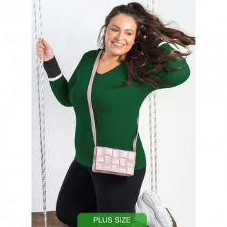 Imagem - Blusa Plus M/l - C60454-9003 - Cativa