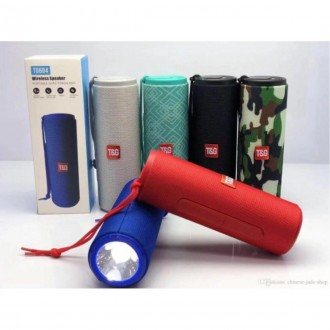 Imagem - T&g Tg604 Caixa de Som Wireless Speaker C/lanterna