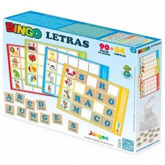 Imagem - Bingo Letras Blocos 705 - Junges Brinquedos