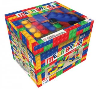 Imagem - Blocos Mega Bricks 48 Peças 2211 - Pais & Filhos