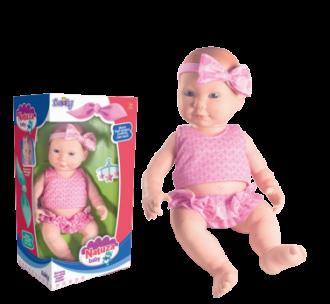 Imagem - Boneca Natuza Baby 1125 - Nova Toys