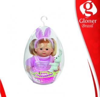 Imagem - Boneca no ovo Cheirozinha 2 peças 595 - Líder
