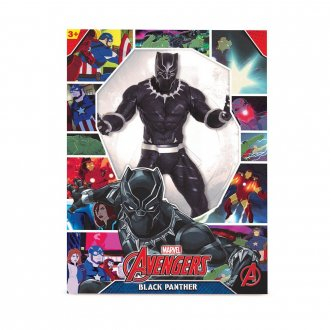 Imagem - Boneco Black Panther Revolution 521 - Mimo Toys