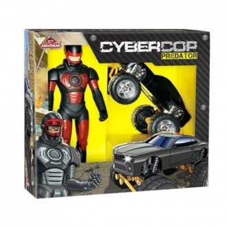Imagem - Boneco Cybercop Predator 827 - Adijomar