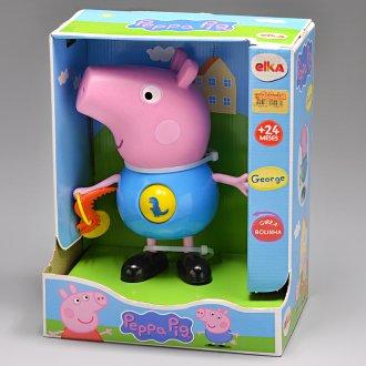 Imagem - Boneco Peppa Pig Jorge Com Atividades 1098 - Elka