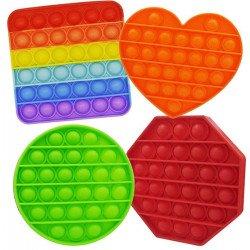Imagem - Fidget Toys Brinquedo Pop it Colorido