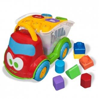 Imagem - Caminhão Baby Land Dino Sabidinho Plus 3029 - Cardoso Toys