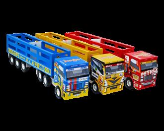 Imagem - Caminhão Carreta Boiadeiro 107 - Junges Brinquedos
