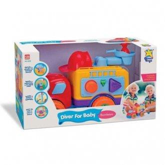 Imagem - Caminhão de bombeiro 8028 - Diver Toys