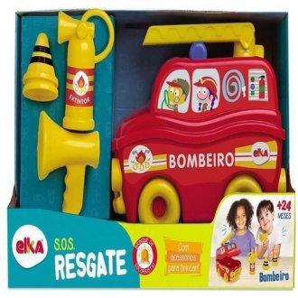 Imagem - Caminhão Resgate de Bombeiro SOS 1118 - Elka