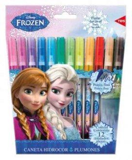 Imagem - Canetinha Frozen 12 unidades 15084 - Tris