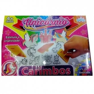 Imagem - Carimbo unicornio 745-Big Star