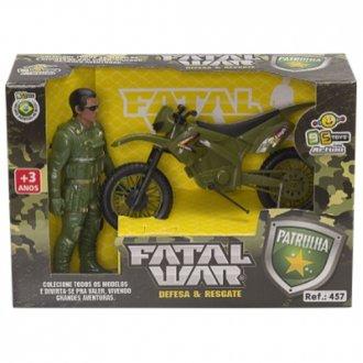 Imagem - Carrinho patrulia  fatal war 457-Bs Toys