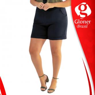 Imagem - Shorts plus gris  G40099-9003 -Cativa