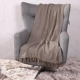 Imagem - Manta Sofa Filato 120x150 Bege - Bene Casa