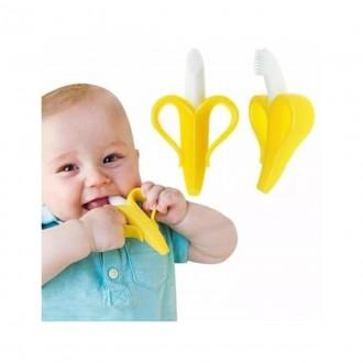 Imagem - Massageador de Gengiva Banana - 7232 - Buba