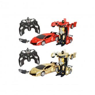 Imagem -  Carrinho de controle remoto sem fio 2em1 Dmt5397-Dm Toys