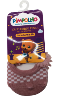 Imagem - Meia Sapatilha Festa 89975 - Pimpolho