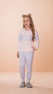 Imagem - Pijama Juvenil 2pcs /rosa - 1244 - Danka