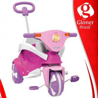 Imagem -  Triciclo pink happy 7245-Xalingo