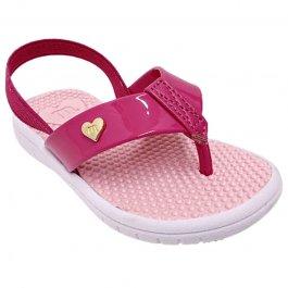 Imagem - Chinelo Infantil Com Elástico Molekinha 2717.100 - Rosa Pink