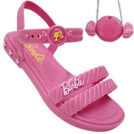 Imagem - Sandália Infantil Com Bolsa Candy Barbie 22492