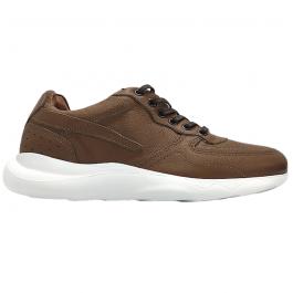 Imagem - Sapatênis Chunky Sneaker Casual Em Couro West Coast 206302