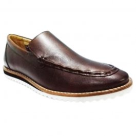 Imagem - Sapato Masculino Casual em Couro Scarpazi 1500